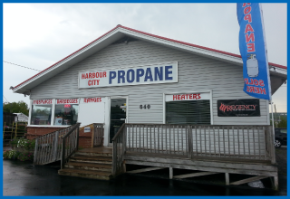 Harbour City Propane store in Saint John